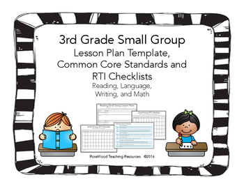 3rd Grade Small Group Pack