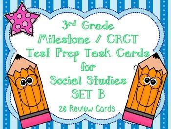 3rd Grade Social Studies Milestone / CRCT Test Prep Task C