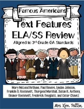 Text Features: 3rd Grade ELA/Social Studies Review