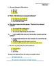 3rd Grade Treasures Unit II Comprehension Questions (5 mai