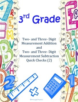 Two- and Three- Digit Measurement Addition and Subtraction