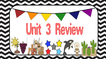 3rd Grade, Unit 3 CCR Unit Test Review, Pearson Reading Street