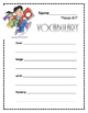 3rd Grade Vocabulary Unit- for BJU Press Reader A- Once Up