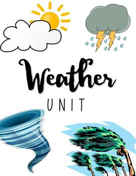 {3rd grade} - Weather Unit