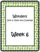 3rd Grade Wonders Binder Inserts Unit 4