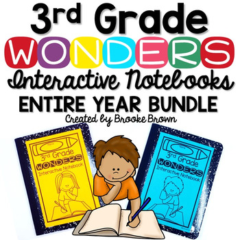3rd Grade Wonders INTERACTIVE NOTEBOOK ENTIRE YEAR BUNDLE