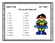 3rd Grade Wonders Spelling Unit 5 Week 4