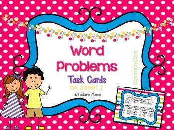 3rd Grade Word Problems