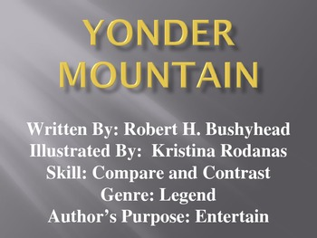 3rd L-13 Yonder Mountain Vocabulary/Spelling/Comprehension