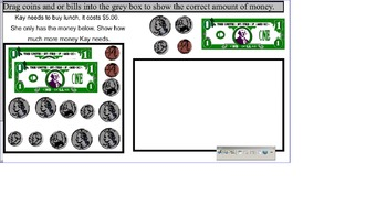 3rd  SOL TEI Money Adding, Subtracting, Comparing Test Pre