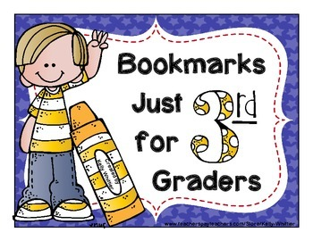 3rd (Third) Grade Bookmarks