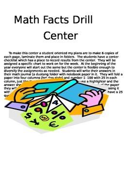 3rd grade Math Drills Center