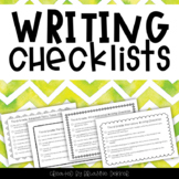 Third Grade Writing Checklists