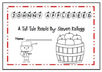 3rd grade Reading Street Unit 2 Review  Johnny Appleseed F