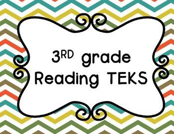 3rd grade Reading TEKS