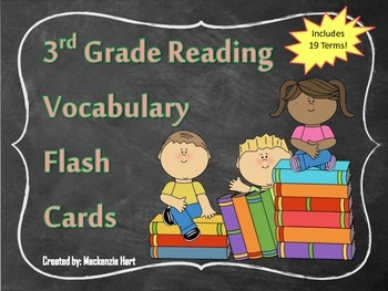 3rd grade Reading Vocabulary