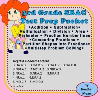 SBAC Math Test Prep Packet