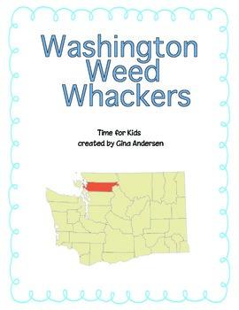 "3rd grade Treasures Reading Unit 4 Week 3 ""Washington Weed"