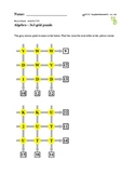 3x3 Grid puzzles to practice arithmetic and algebra