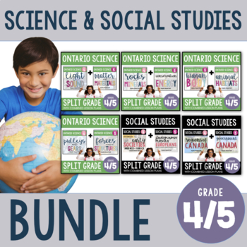4/5 Combined Science and Social Studies Growing Bundle