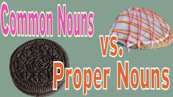 4-6th Writing - Proper Nouns