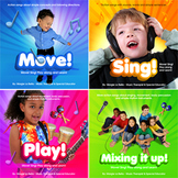 4 speech / music therapy & education CDs! Gr8 brain break