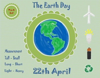 4 Activities in Measurement - Earth Day
