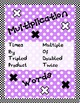 4 Basic Math Operations Classroom Posters