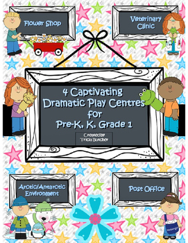 4 Captivating Dramatic Play Centres for Pre-K, K, and Grade 1