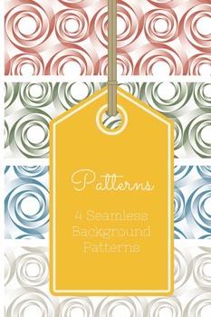 4 Custom Seamless Background Patterns