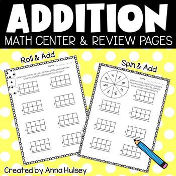 4 Digit Addition Freebie