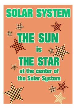 4 Fantastic and colorful Solar System posters