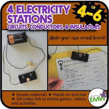Circuits, Conductors, and Insulators Electricity Stations