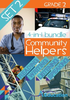 4-IN-1 BUNDLE- Community Helpers (Set 2) – Grade 2