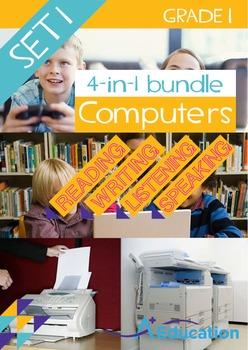 4-IN-1 BUNDLE- Computers (Set 1) - Grade 1