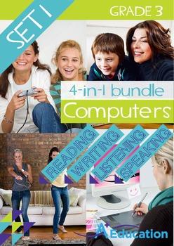 4-IN-1 BUNDLE- Computers (Set 1) - Grade 3
