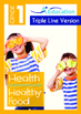 4-IN-1 BUNDLE- Health (Set 1) - Grade 1 (with 'Triple-Trac