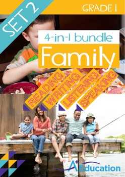 4-IN-1 BUNDLE- Family (Set 2) – Grade 1