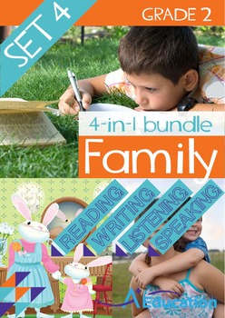 4-IN-1 BUNDLE- Family (Set 4) – Grade 2