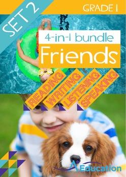 4-IN-1 BUNDLE - Friends (Set 2) - Grade 1