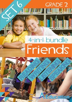 4-IN-1 BUNDLE- Friends (Set 6) - Grade 2