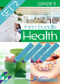 4-IN-1 BUNDLE - Health (Set 2) - Grade 5