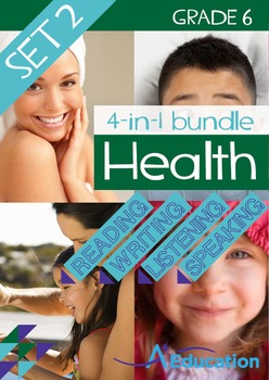 4-IN-1 BUNDLE - Health (Set 2) - Grade 6