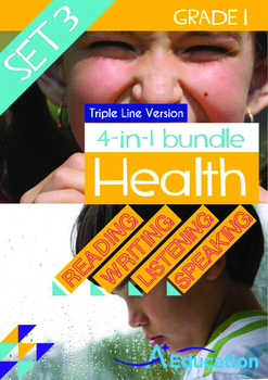 4-IN-1 BUNDLE- Health (Set 3) - Grade 1 (with 'Triple-Trac