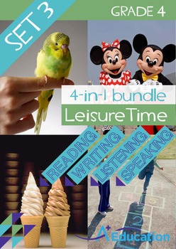 4-IN-1 BUNDLE - Leisure Time (Set 3) - Grade 4