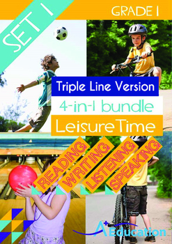 4-IN-1 BUNDLE- Leisure Time (Set 1) - Grade 1 (with 'Tripl