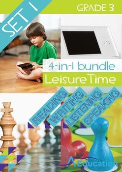 4-IN-1 BUNDLE - Leisure Time (Set 1) - Grade 3