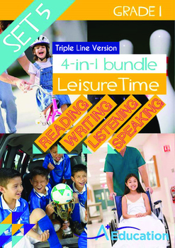4-IN-1 BUNDLE- Leisure Time (Set 5) - Grade 1 (with 'Tripl