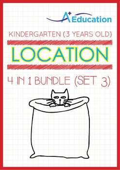 4-IN-1 BUNDLE - Location (Set 3) - Kindergarten, K1 (3 years old)