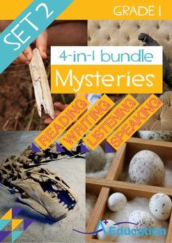 4-IN-1 BUNDLE- Mysteries (Set 2) – Grade 1